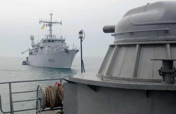 ВМСУкраины иФранции провели совместные учения вЧёрном море