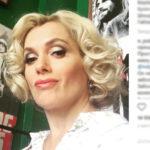 Актриса Порошина возникла с кольцом и в сопровождении незнакомца