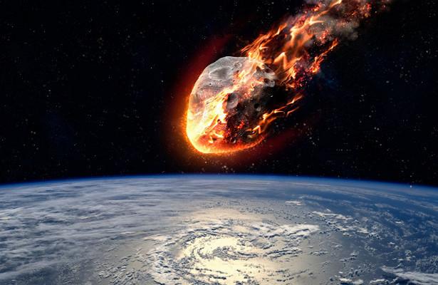 ВNASA поведали обвзрыве метеора надБеринговым морем