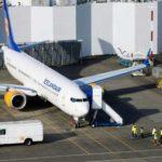 Boeing 737 MAX экстренно приземлился в США из-за проблем с двигателем