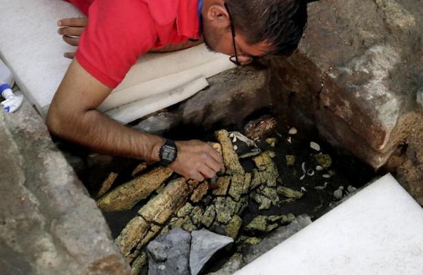 ВМехико найдены сокровища ацтеков