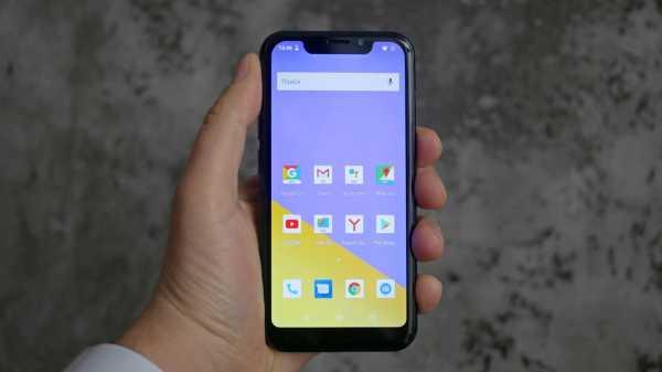 Обзор телефона INOI 5X Lite: с декольте на дисплее