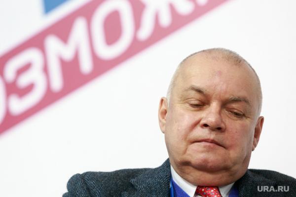 На ведущего Дмитрия Киселева пожаловались в Генпрокуратуру из-за фейковой новости.