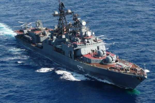 Российские военные корабли прибыли на Филиппины в период нарастающей напряжённости в Южно-Китайском море.