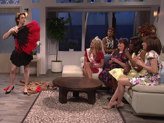 Актер из «Игры престолов» Кит Харингтон исполнил стриптиз на каблуках