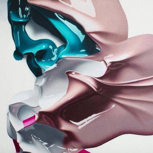 Пятна Роршаха, изображённые в гиперреалистичной манере (10 фото)