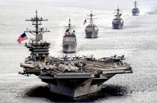 Лишившись Крыма, американцы не знают, где размещать свой флот