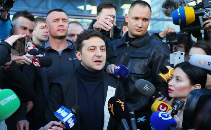 Зеленский представил план прекращения войны в Донбассе