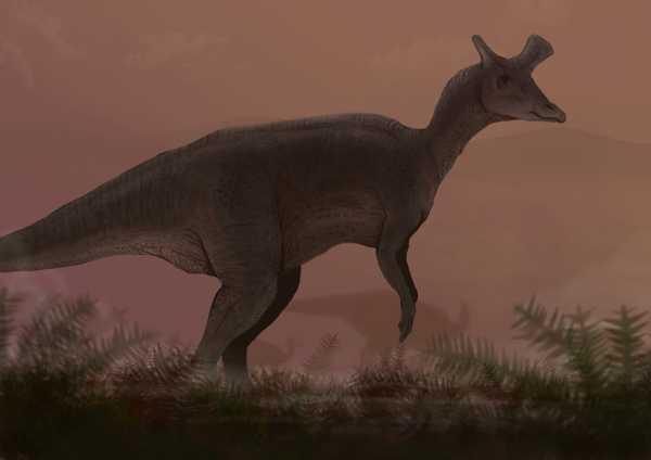 Ученые впервые обнаружили ламбеозавра в Арктике. Раньше считалось, что они там не обитали