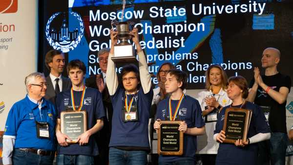 Россияне выиграли чемпионат мира по программированию восьмой год подряд