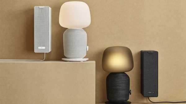 IKEA и Sonos выпустят акустический светильник и динамик-полку