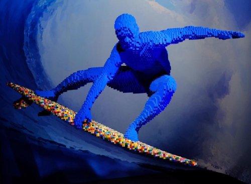 LEGO-арт Наната Савайи (21 фото)