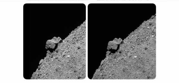 Зонд OSIRIS-REx нашел 52-метровую скалу на астероиде Бенну. А экс-гитарист Queen превратил снимки аппарата в 3D-модель
