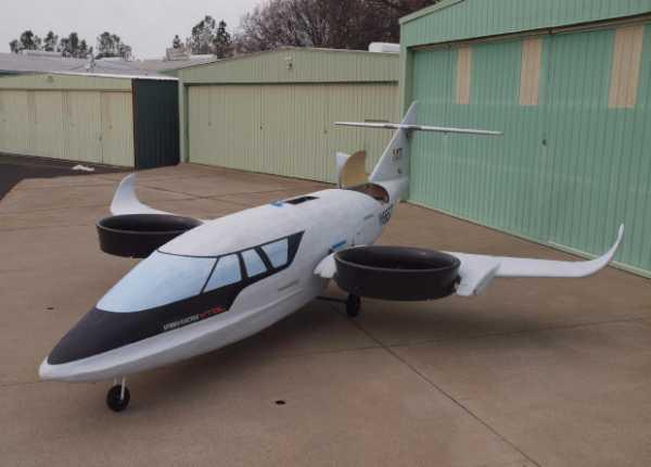 Стартап XTI Aircraft собрал первый рабочий прототип трехвентиляторного гибридного самолета TriFan 600