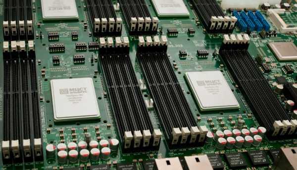 Ростех создал первый суперкомпьютер на базе микропроцессора «Эльбрус-8С»