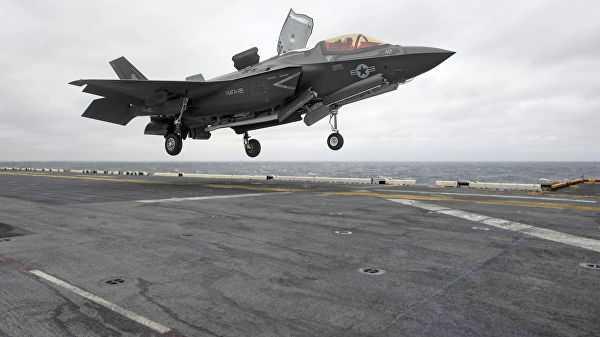 Американский сенат начал процедуру блокировки продаж F‐35Турции