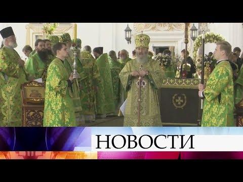 В Киево-Печерской Лавре проходят торжества по случаю юбилея Митрополита Онуфрия.
