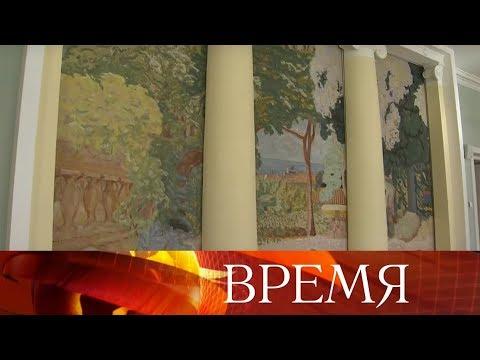 В Главном штабе Эрмитажа - уникальная коллекция братьев Морозовых.