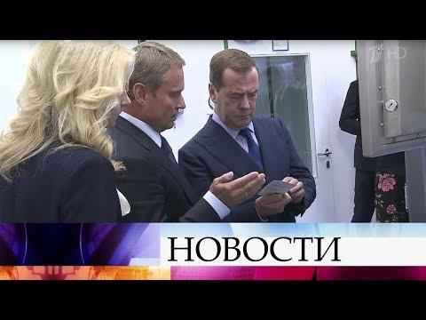 Дмитрий Медведев встретился с председателем парламента Молдавии Зинаидой Гречаный.