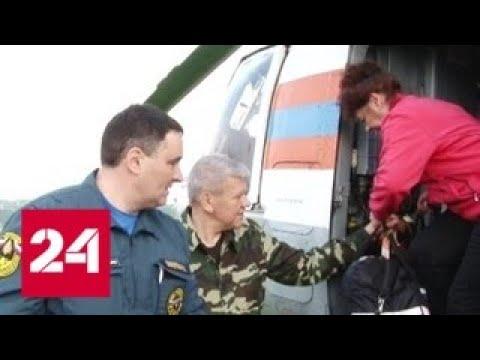 Под Иркутском из-за паводка перекрыта федеральная трасса - Россия 24