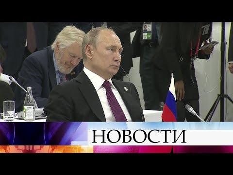 Состоялись отдельные переговоры лидеров стран БРИКС.
