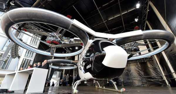 Airbus запустит во Франции летающее такси к Олимпиаде 2024 года