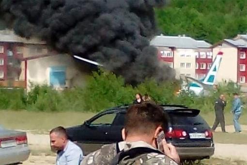 Пилот отказался лететь насовершившем жесткую посадку Ан-24