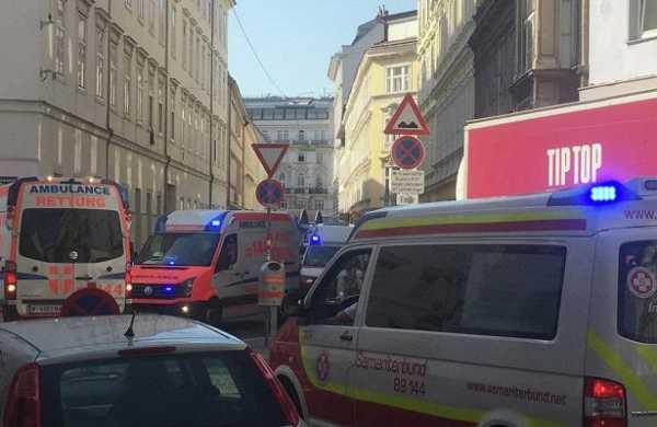 «Будто прилетела бомба»: страшный взрыв всердце Вены