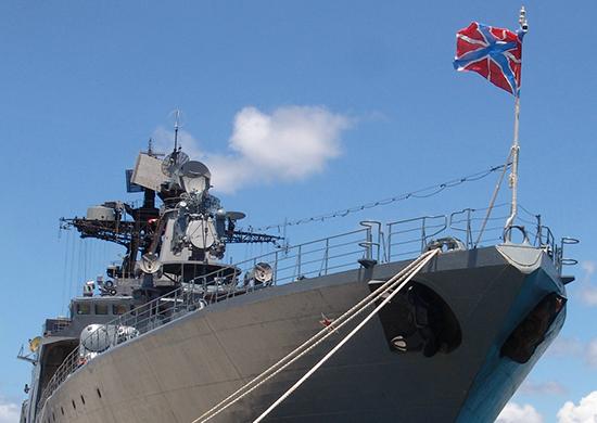 НаТихоокеанском флоте сформирован экипаж фрегата «Маршал Шапошников»