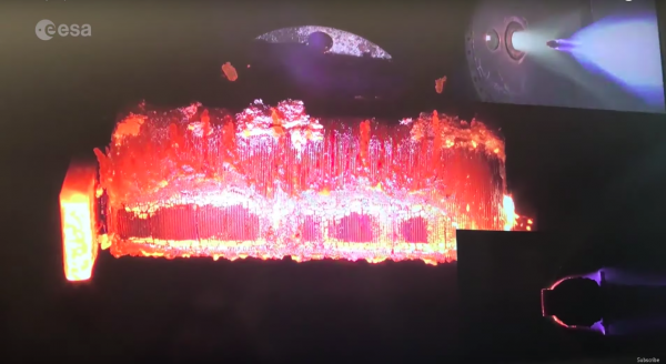 Европейское космическое агентство показало, как спутники сгорают в атмосфере Земли