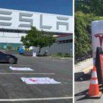 Tesla официально открыла первую зарядную станцию Supercharger 3 на250 кВт