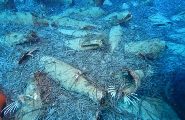 Римский корабль сдревними амфорами нашли упобережья Кипра