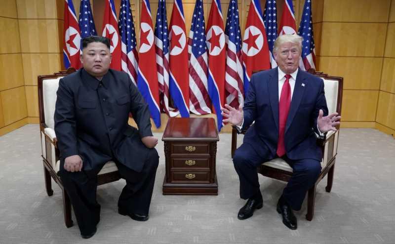 Трамп сообщил об итогах встречи с Ким Чен Ыном
