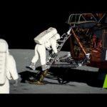 Посмотрите обновленные фотографии и видео высадки на Луну. Там идеальный свет!