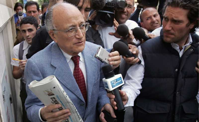 В Италии умер руководитель громкого расследования «Чистые руки»