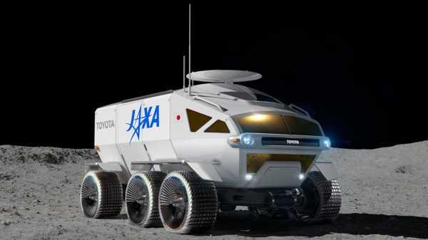 Toyota создаст ровер, который будет работать на Луне с 2029 года