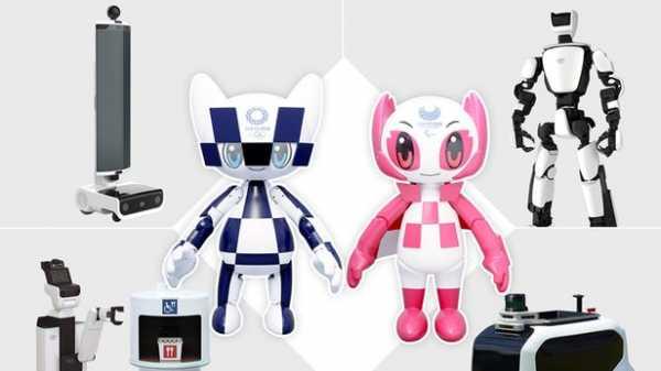 Toyota представила роботов-талисманов и роботов-помощников для Олимпийских игр 2020 года
