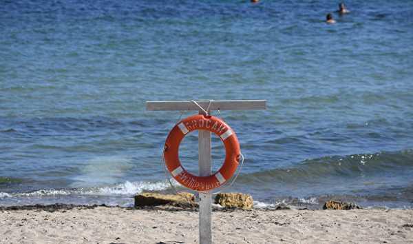 ВКрыму подростка унесло воткрытое море
